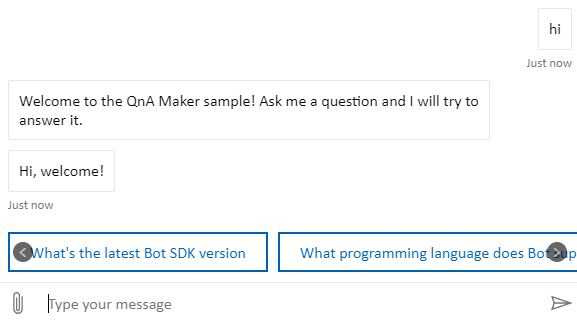 Implement the Follow-up prompt for QnA Bot